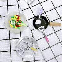 Dollhouse Miniature Accessories Mini Shovel Soup Spoon Kitchen Cooking Tool JR