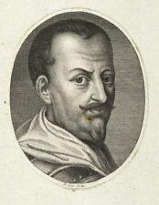 WALLENSTEIN - BILDNIS - Johann Heinrich Lips - Kupferstich um 1790