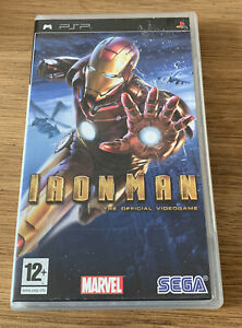 Iron Man Sony PSP Playstation Boxed Complete Sega Marvel Game