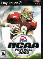 NCAA Football 2002 (PlayStation PS2 Video Game) Complete Chris Weinke