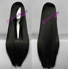 Shakugan No Shana Shana cosplay wig bleach Kuchiki Byakuya cosplay wig black wig