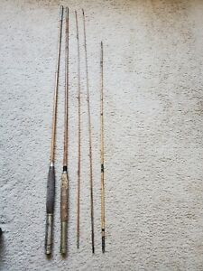Vintage Split Bamboo Fly Rod Pieces (5)