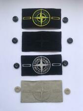 Stone Island patch badge with two buttons and tags custom 4 colors