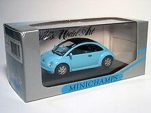 Volkswagen New Beetle Concept Car 1994 Blue 1:43 Model MINICHAMPS