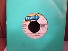 "SINGING SWEET AND GHOST LOVE SOMEBODY GLORY OF LOVE ~ VERSION 7"" 45 RPM"