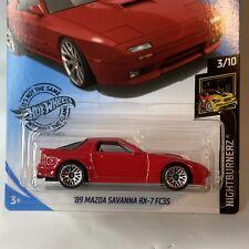 Hot Wheels - 2020 Nightburnerz 3/10 '89 Mazda Savanna RX-7 FC35 (BBGHB56)