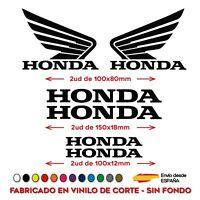 KIT HONDAS ALAS MOTO BIKE HRC CBR AUTOCOLLANT STICKER PEGATINA VINILO VINYL