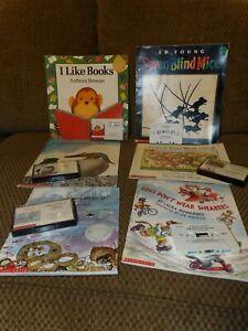 Listening Center Cassette & Book Lot of 6 PreK Kindergarten #1