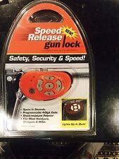 Keyless Digital Speed Release Gun Lock