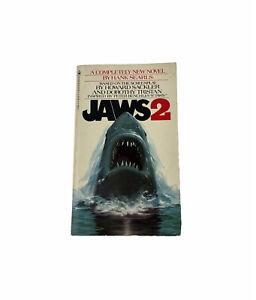 "Vintage 1978 ""Jaws 2"" Hank Searls HORROR Bantam Paperback Book"