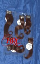 TWO AUBURN JOSE EBER HIGH QUALITY 100% HUMAN HAIR EXTENSIONS 5 PIECE CLIP ON