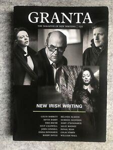 Granta Magazine / Journal, Spring 2016, Issue 135 : New Irish Writing : VGC
