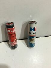 VINTAGE BATTERIES PENLIGHT MAXELL. AND  HW 1960S