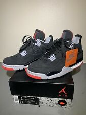 Nike Air Jordan Bred IV 4 2019 Retro Sz 8 VNDS OG ALL