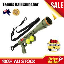 OZ Dog Tennis Ball Gun Launcher Squeaky Balls Pet Play Fetch Throw Outdoor Toy