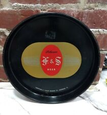 F&S Beer And Ale Beer Tray Shamokin Pa Fuhrham & Schmidt Brewery Man cave Bar