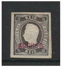 Azores - 1868/70, 5r Black - Imperf stamp - M/M - SG 1 (cat. £4250)