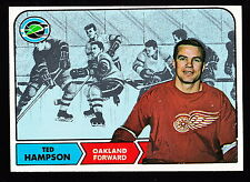 1968-69 TOPPS #85 TED HAMPSON SEALS
