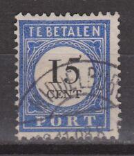 Port 24 TOP CANCEL MIDDELBURG lange balk NVPH Nederland Netherlands due 1894