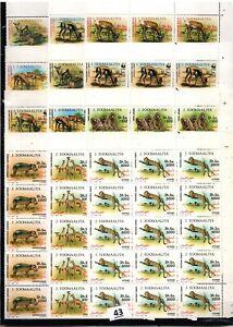 PK 15X SOMALIA 1992 - MNH - WWF - ANIMALS - WHOLESALE