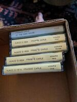 5 Franke Carle CASSETTE TAPE LOT SET 1-4 AJAX AJAZZ RARE RECORDINGS big band