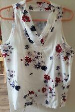 Woman's Sleeveless Summer Blouse Size Large