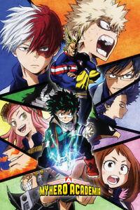 "My Hero Academia Angles Poster - NEW 24"" x 36"""