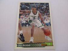 Carte NBA UPPER DECK 1992-93 FR #206 Eric Murdock Milwaukee Bucks