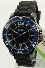 Fossil Keramik Uhr Uhren Damenuhr CE1036 Ceramic Silikon Armbanduhr NEU