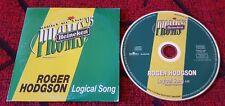 ROGER HODGSON **Logical Song** RARE Spain CD SINGLE 1995 **SUPERTRAMP**