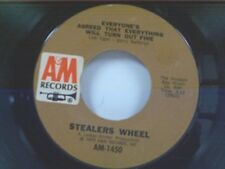 """STEALERS WHEEL """"EVERYONE'S AGREED THAT EVERYTHING WILL TURN OUT FINE"""" 45"""