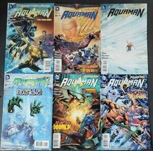 AQUAMAN LOT OF 18 ISSUES (2013) DC 52 COMICS THE DEAD KING! CHIMERA! VARIANTS!