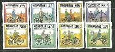 MONGOLIA 1233-40 MNH HISTORIC BICYCLES