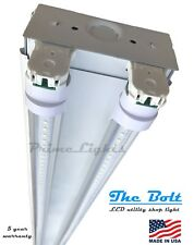 NEW 4 foot 5920 Lumens 44 Watt LED Shoplight Room Work Garage Light Fixture NEW!