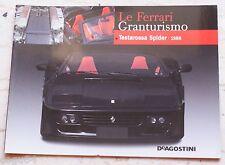 Le Ferrari Granturismo - Numero 56 - Testarossa Spider 1986 - De Agostini