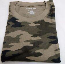 Men's Kohl's Croft & Barrow Medium CAMO Camouflage Thermal Underwear Crew Shirt