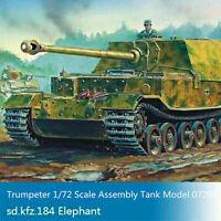 Trumpeter 07204 1/72 Scale German Elefant Tank Destroyer Sd.Kfz.184 Armor Model