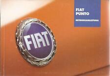FIAT PUNTO 2 Betriebsanleitung 2003 Bedienungsanleitung Handbuch Bordbuch BA