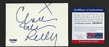 """Charles Nelson Reilly signed 3-1/2""""x5"""" card PSA Authenticated Actor Comedian"""