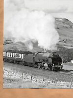 "Cumbrian Mountain Express Lord Nelson Ais Gill Summit 1984 Original 10""x8"" photo"