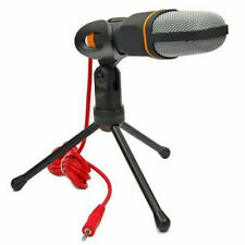 Professional Condenser Sound Podcast Studio Microphone FIT PC Laptop Game Skype