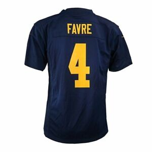 Brett Favre Nike Green Bay Packers Game Day Alt Youth Jersey Large *MINOR FLAWS