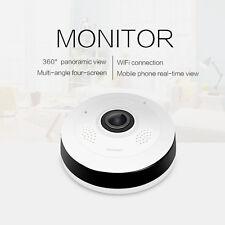 Mini 360 Degree Wireless IP Camera 1080P HD Fisheye Night Vision Wifi Panoramic