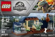 Lego Jurassic World NEW 30382 Baby Velociraptor Playpen polybag Fallen Kingdom