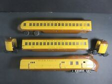 Lionel Prewar 751E UP Streamlined Passenger Set 752E,753,754 O Gauge Trains Set