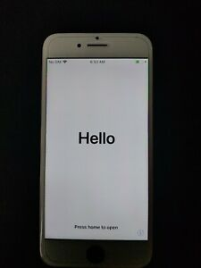 Apple iPhone 7 Jet Black With White Front - 128GB - (Unlocked) A1778
