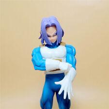 "DragonBall Z DBZ The Super Warriors TRUNKS PVC Statue figure 7 "" LOOSE Md4"