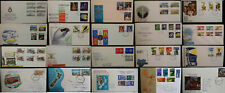 New Zealand FDC & Souvenir Covers 1945 - 2001 Comm + Definitive Multi From 99p