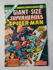 Giant-Size Spider-Man #1 Vg/Fn 5.0 Marvel Comics Morbius Man-Wolf 🔥🔥