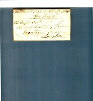 1816 Lord Bishop of Cloyne  Southwall London  Montaque Square Document